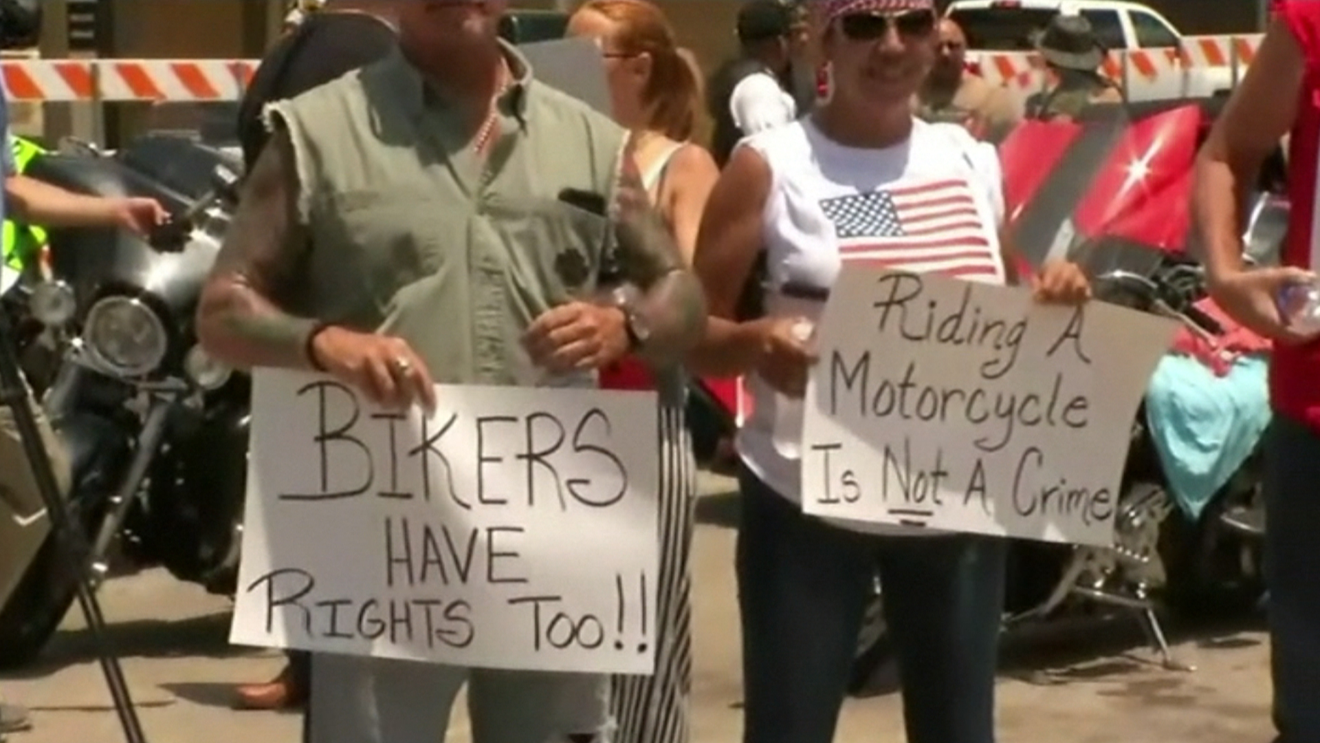 Bikers Rally in Waco Over Incarceration of Those Arrested at Deadly Brawl