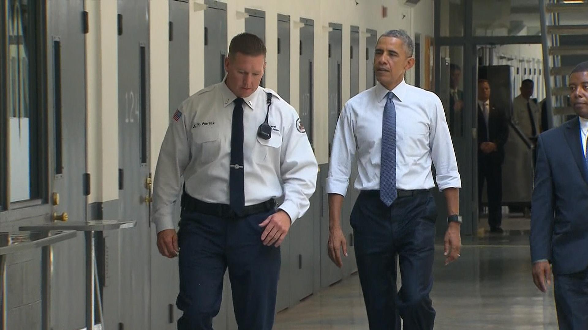 Obama pushes for prison reform after federal prison visit for Bureau sentence