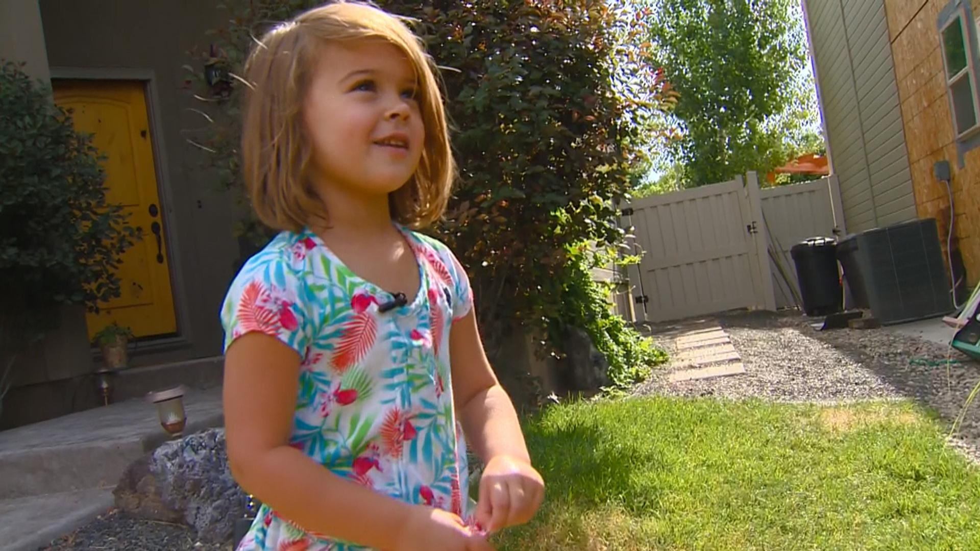 Idaho Girl Rosie Moran Spots House Fire, Helps Save Family