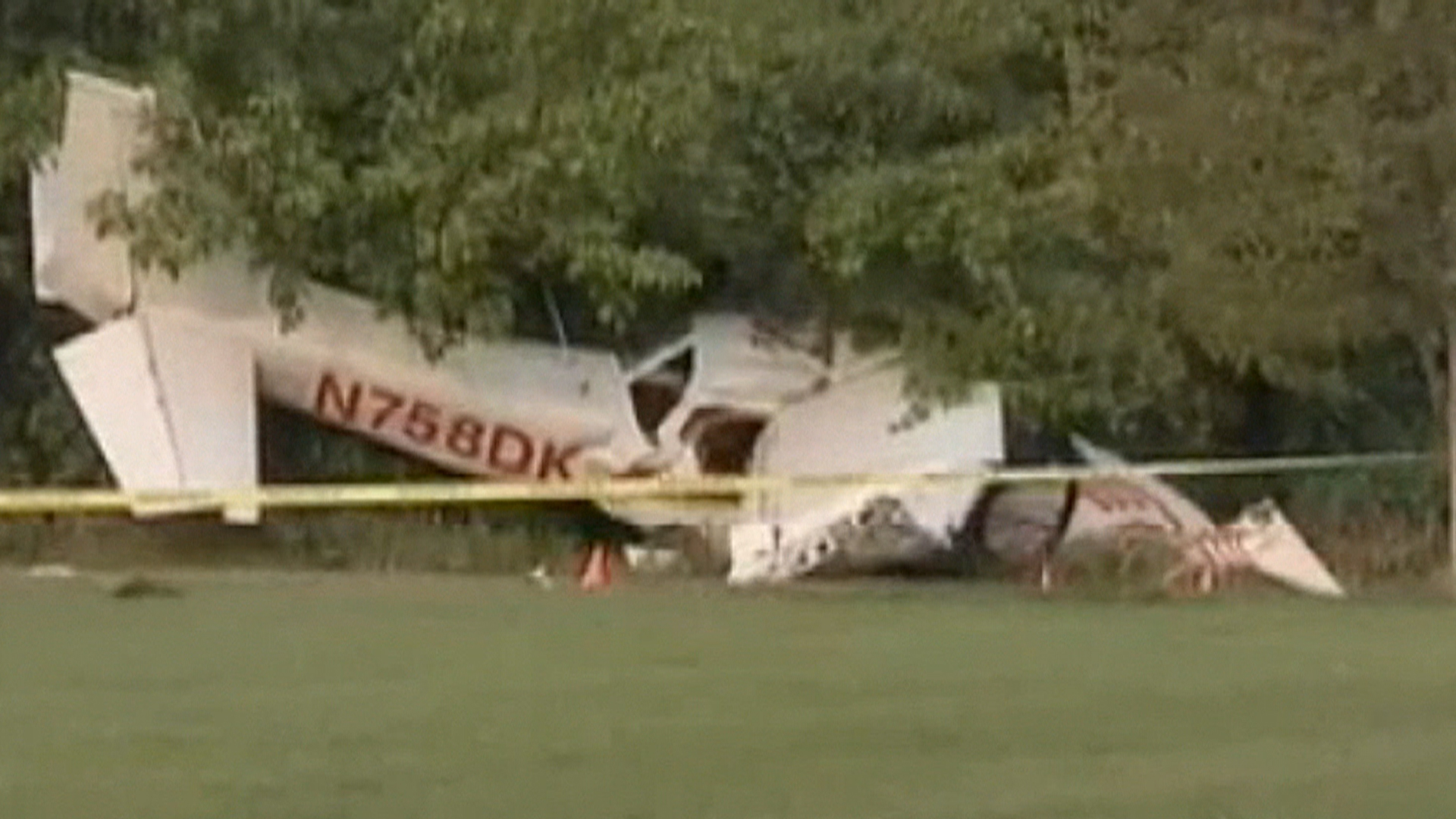 Small Plane Crashes Into Sports Field In New Jersey