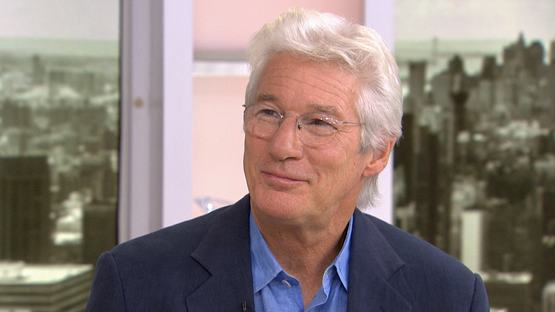 Richard Gere: Richard Gere On Portraying A Homeless Man In NYC For New