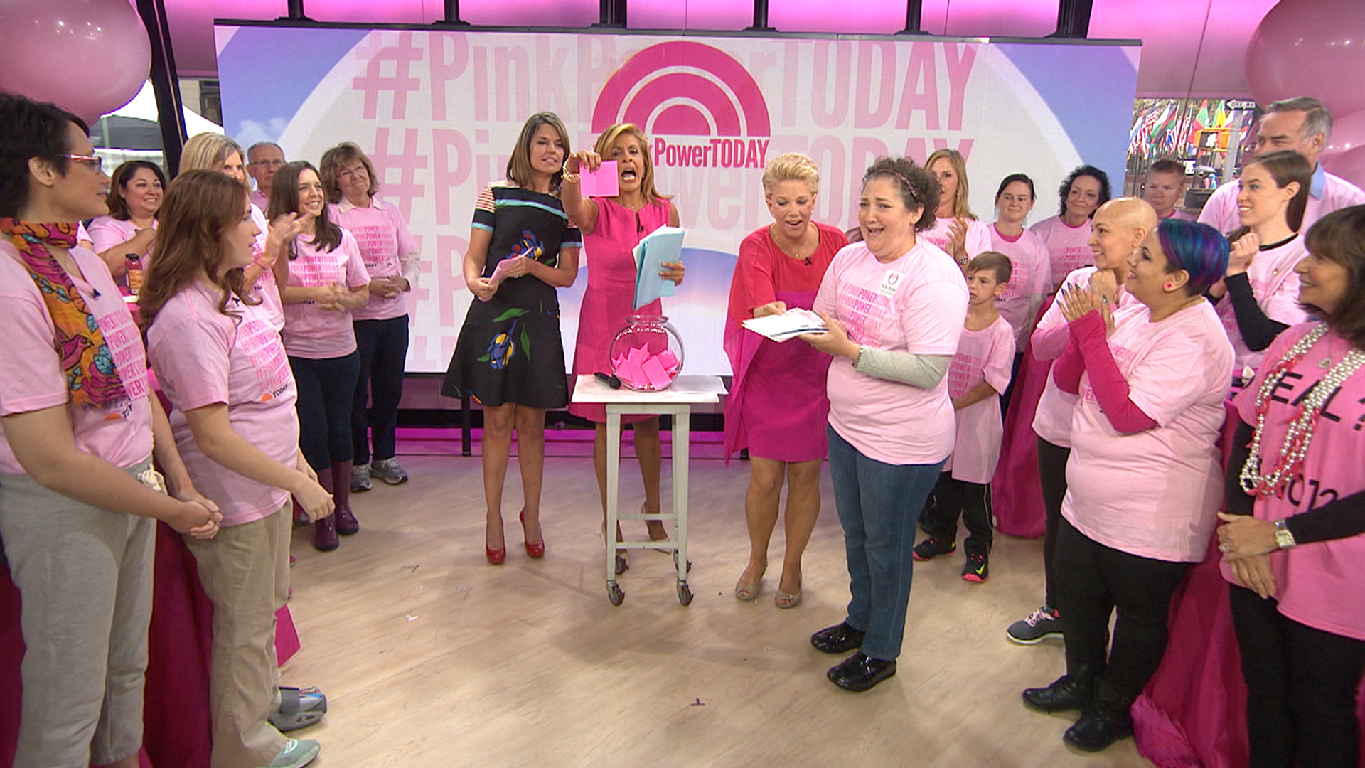 Breast cancer fighters and survivors get pinkpowertoday for Ford motor company retiree death benefits