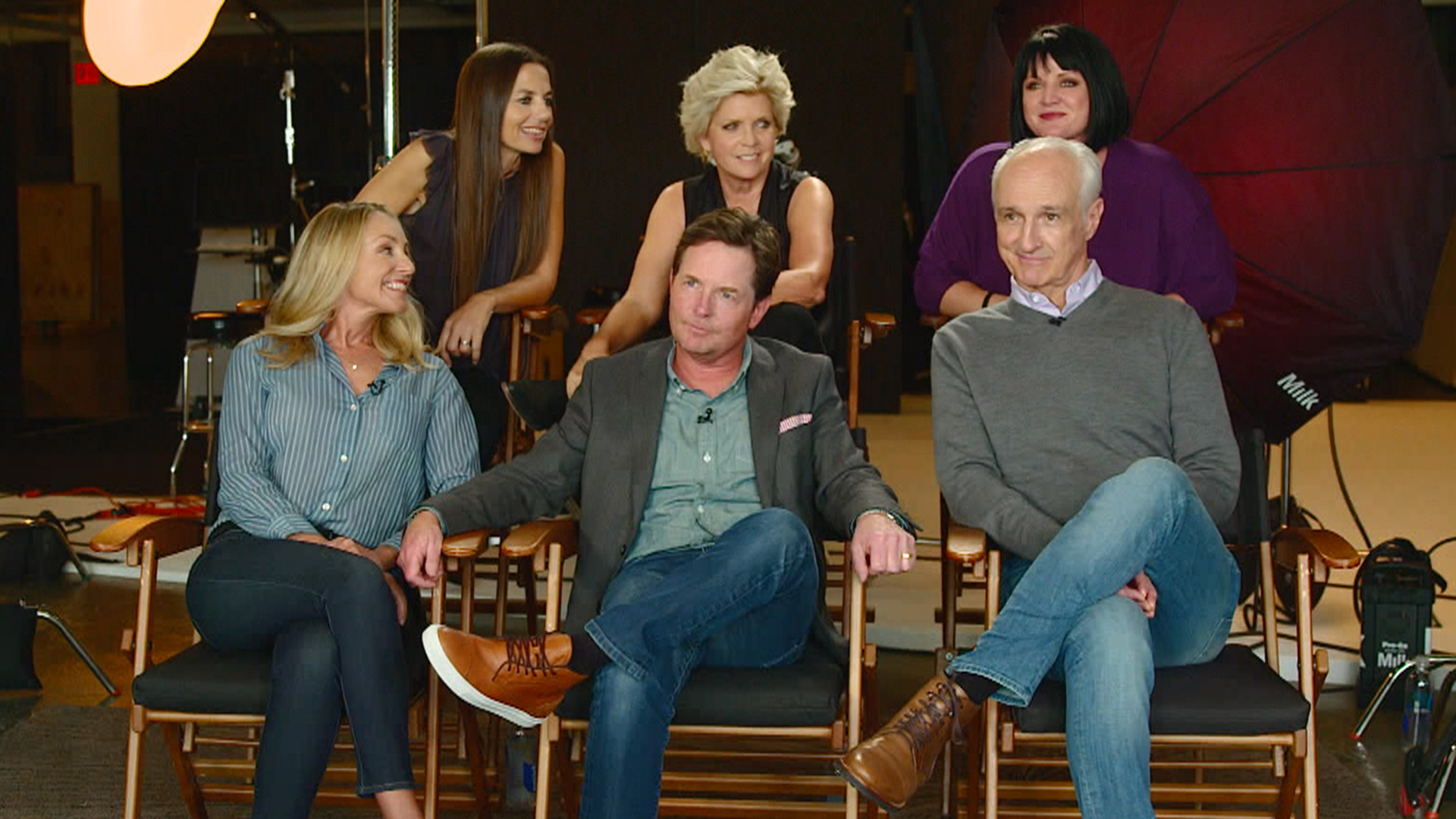 It S A Family Reunion For Family Ties Cast After 25