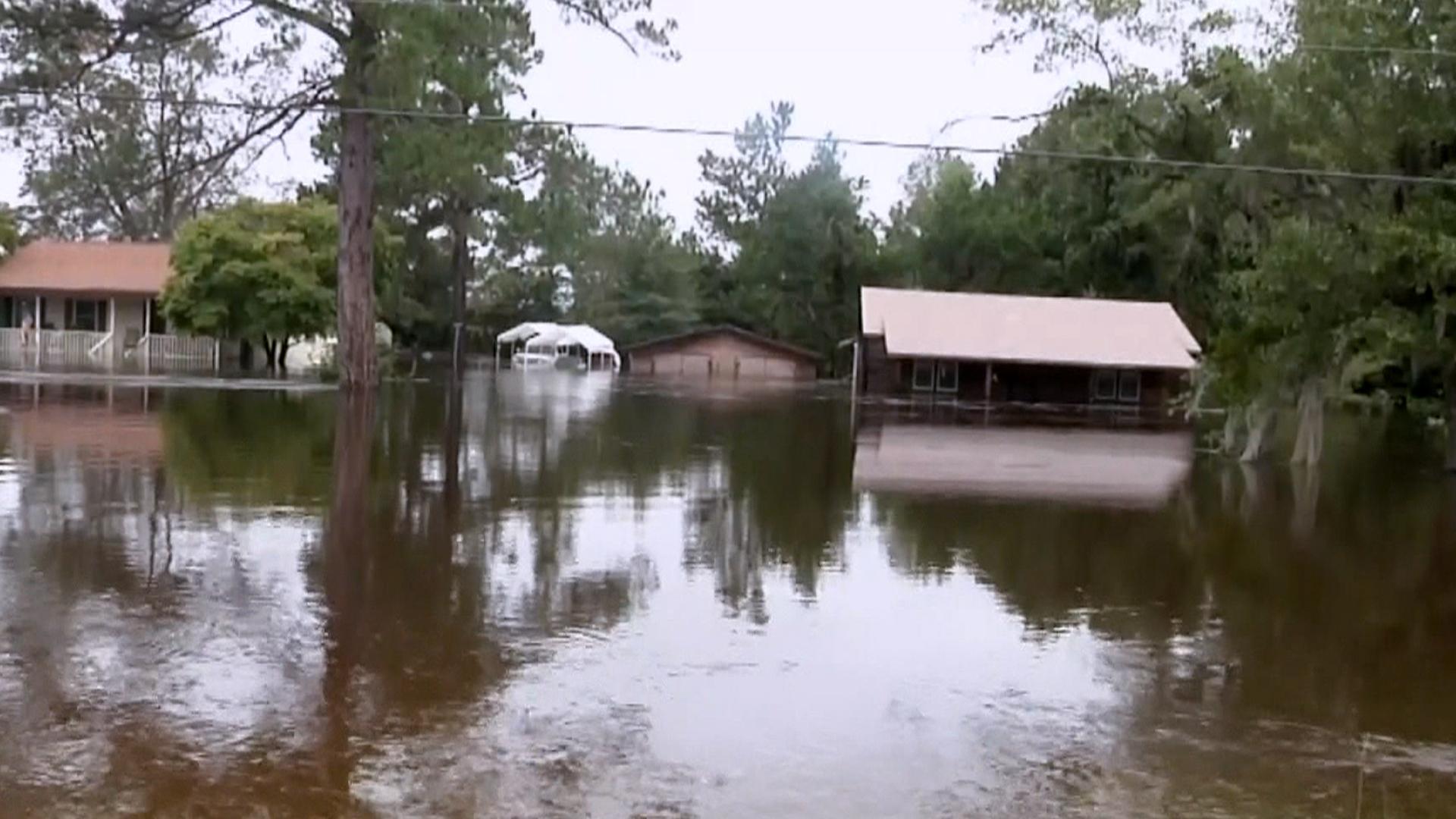 South Carolina on alert for dam breaks after historic