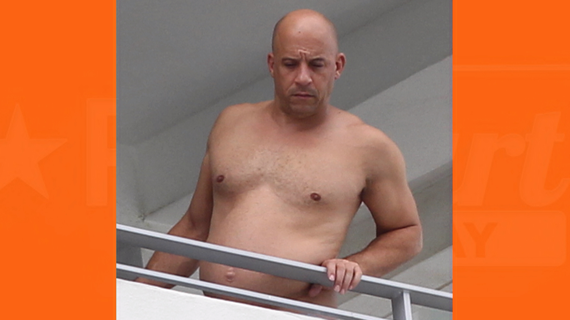 Vin diesel body something