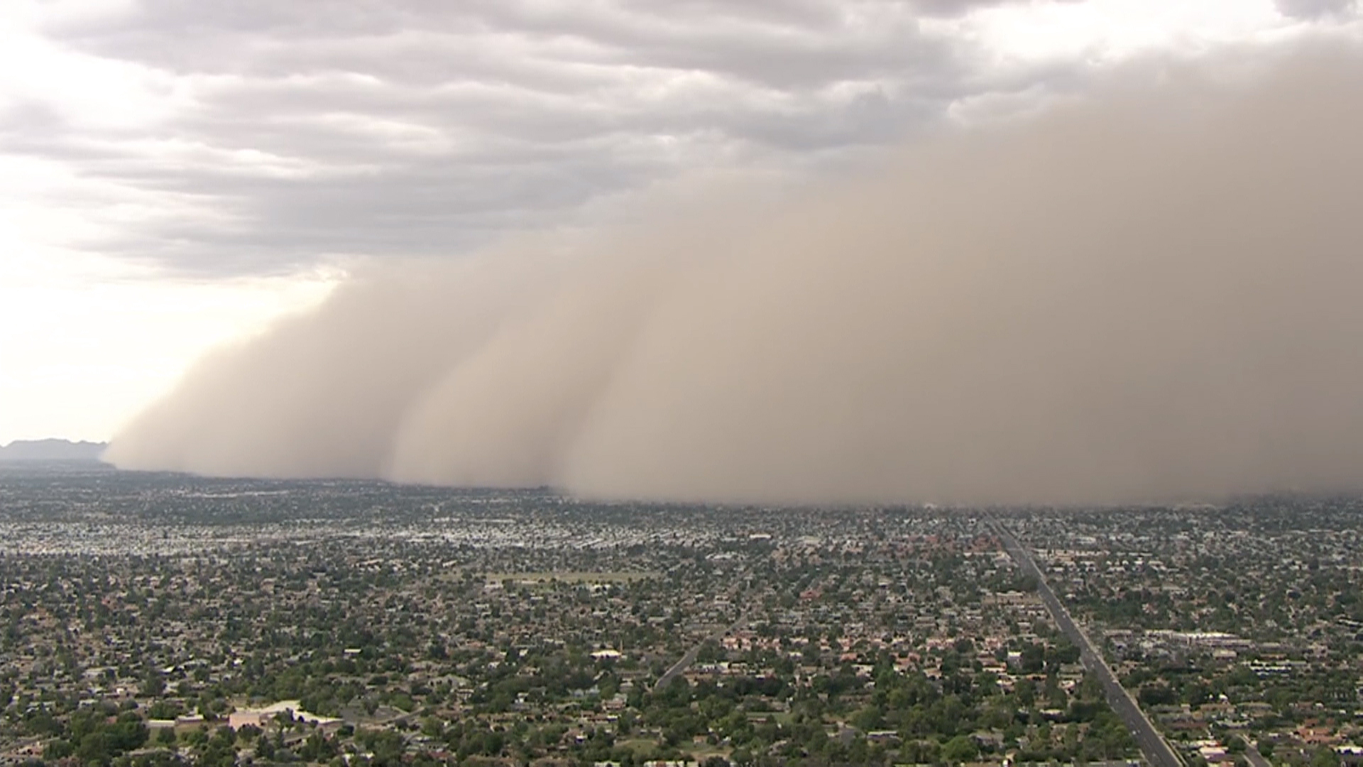 Dust storm blows through phoenix for Today s interiors phoenix