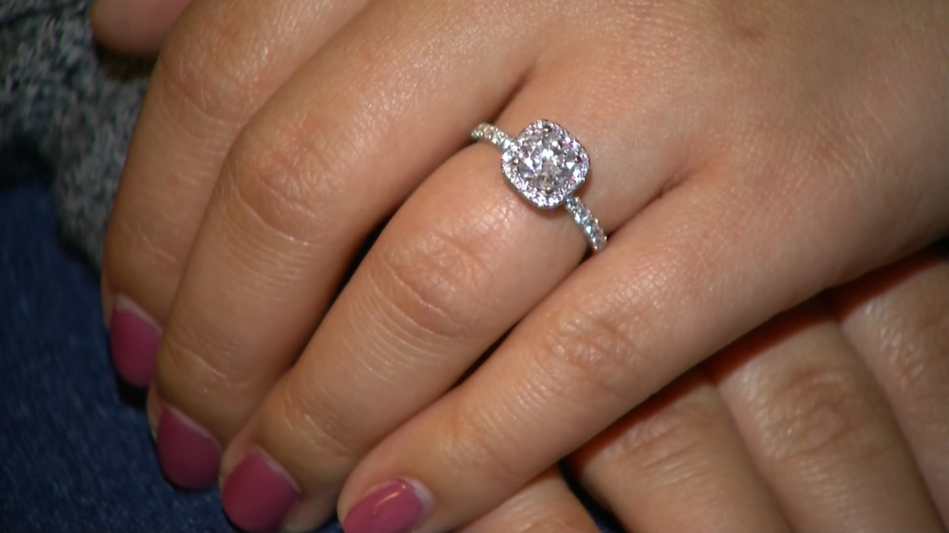 Engagement Ring Found After Being Flushed Down The Toilet
