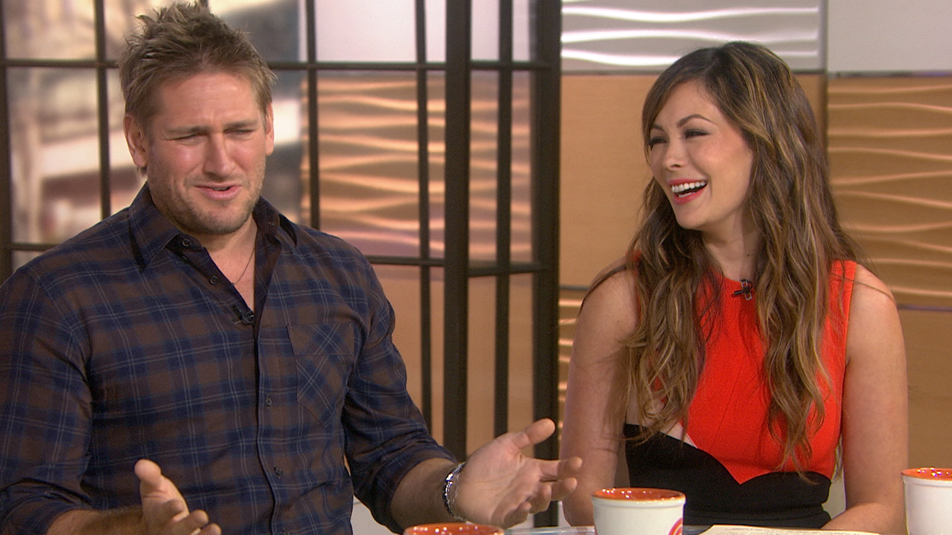 Curtis Stone And Lindsay Price On Kitchen Dance Parties