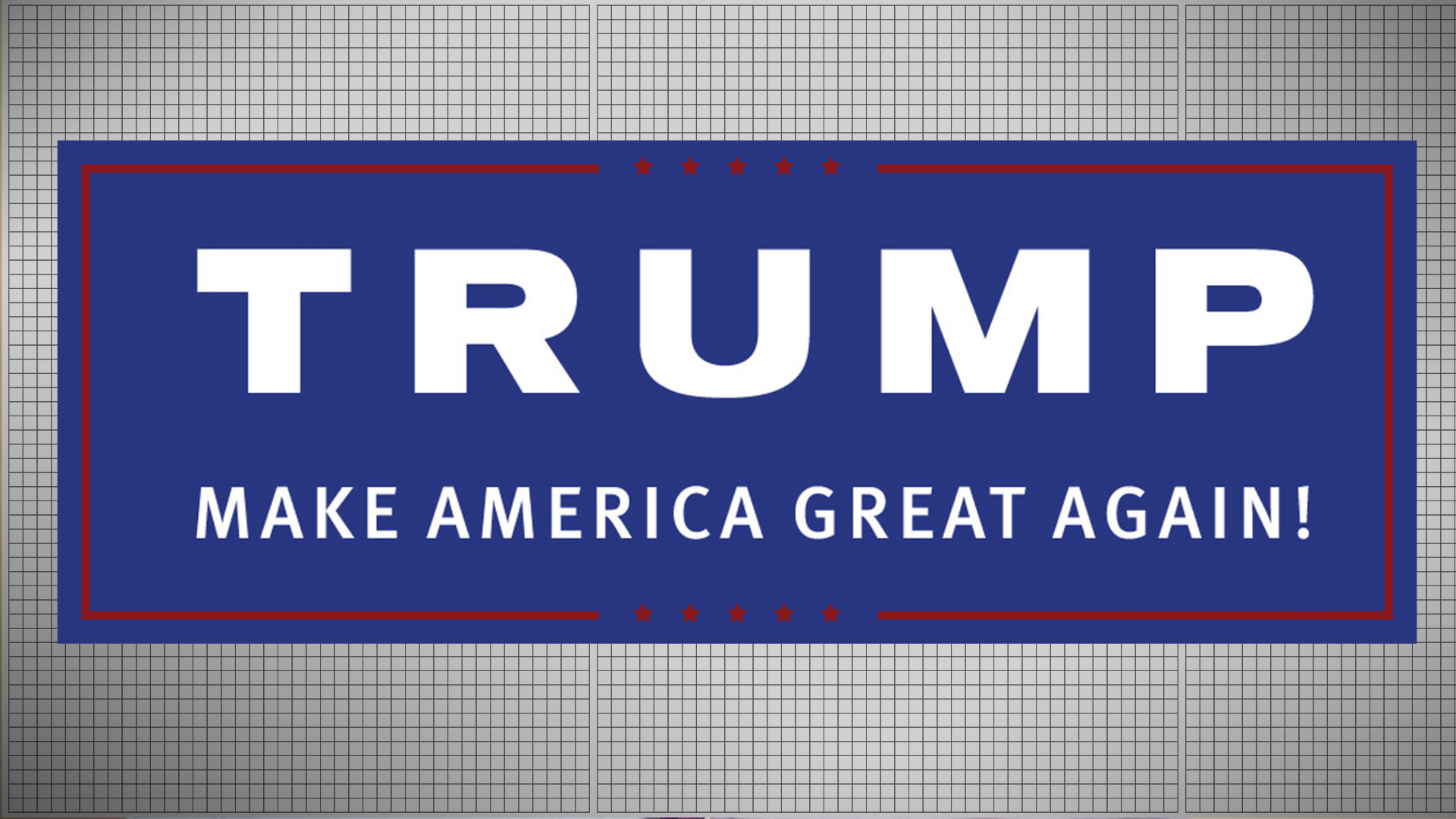 2016 Campaign Logos Trump Goes Modern