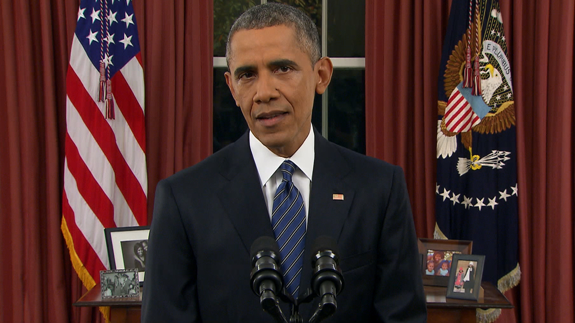 Obama to Nation: Terrorist Threat to U.S. Is 'Evolving' but Beatable