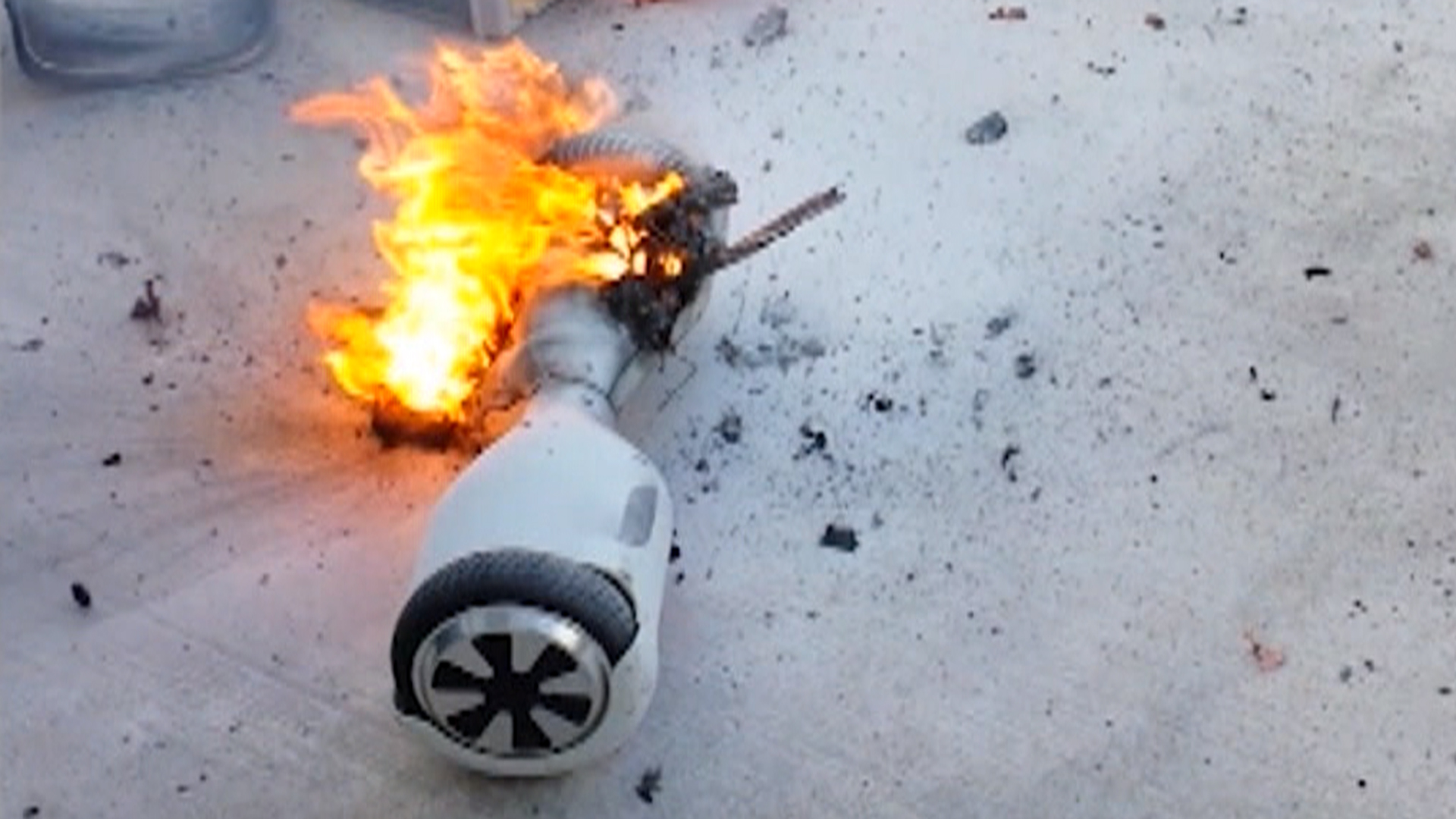 Hoverboard Fires Prompt Impoundments By U.K. Safety Officials - 614657