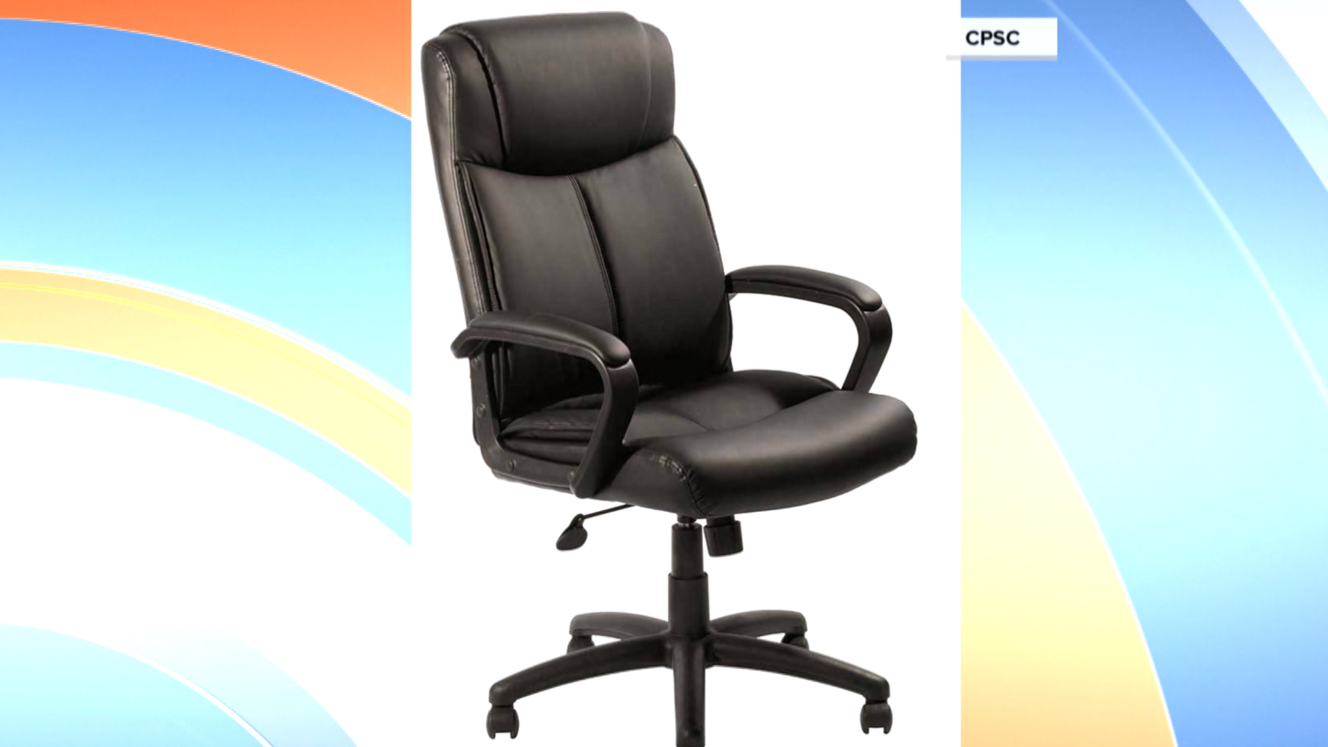 office chair being recalled for seat plate weld breaking fall hazard todaycom