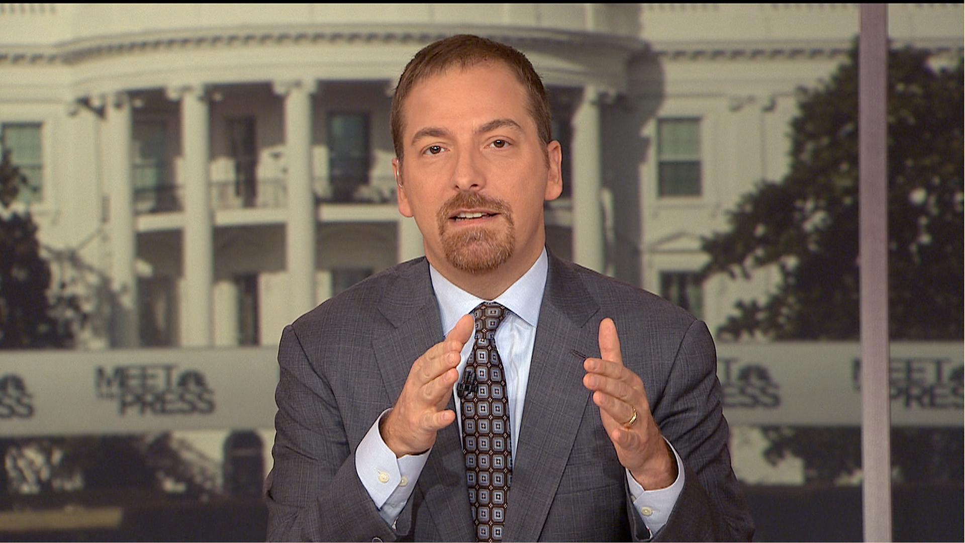 Chuck Todd Donald Trump Isn T Going Anywhere