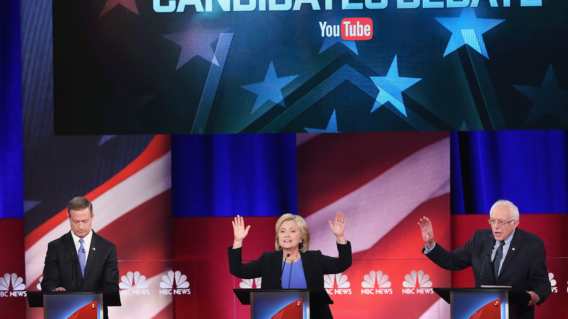 What you missed from the Dem debate (in 2...