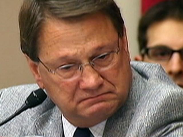 Congressman cries over spill impact