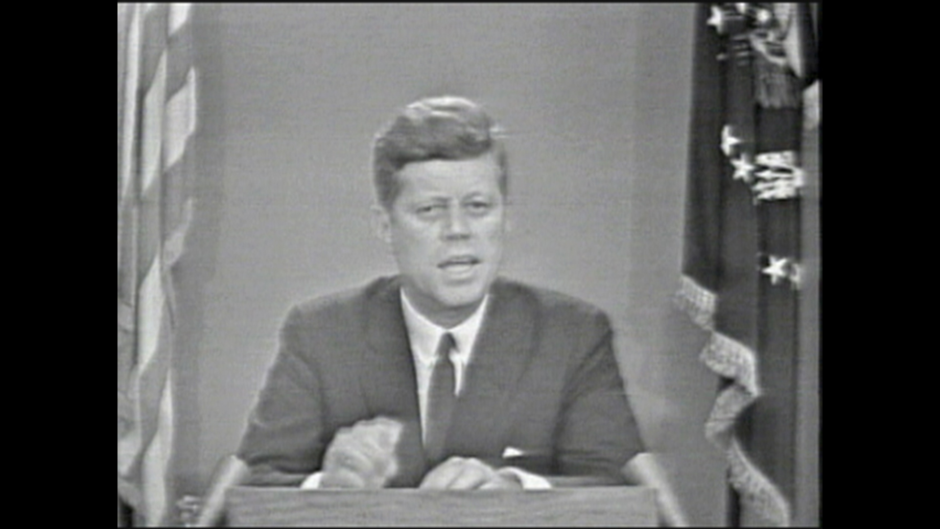 President Kennedy addresses the nation on civil rights - Video on ...