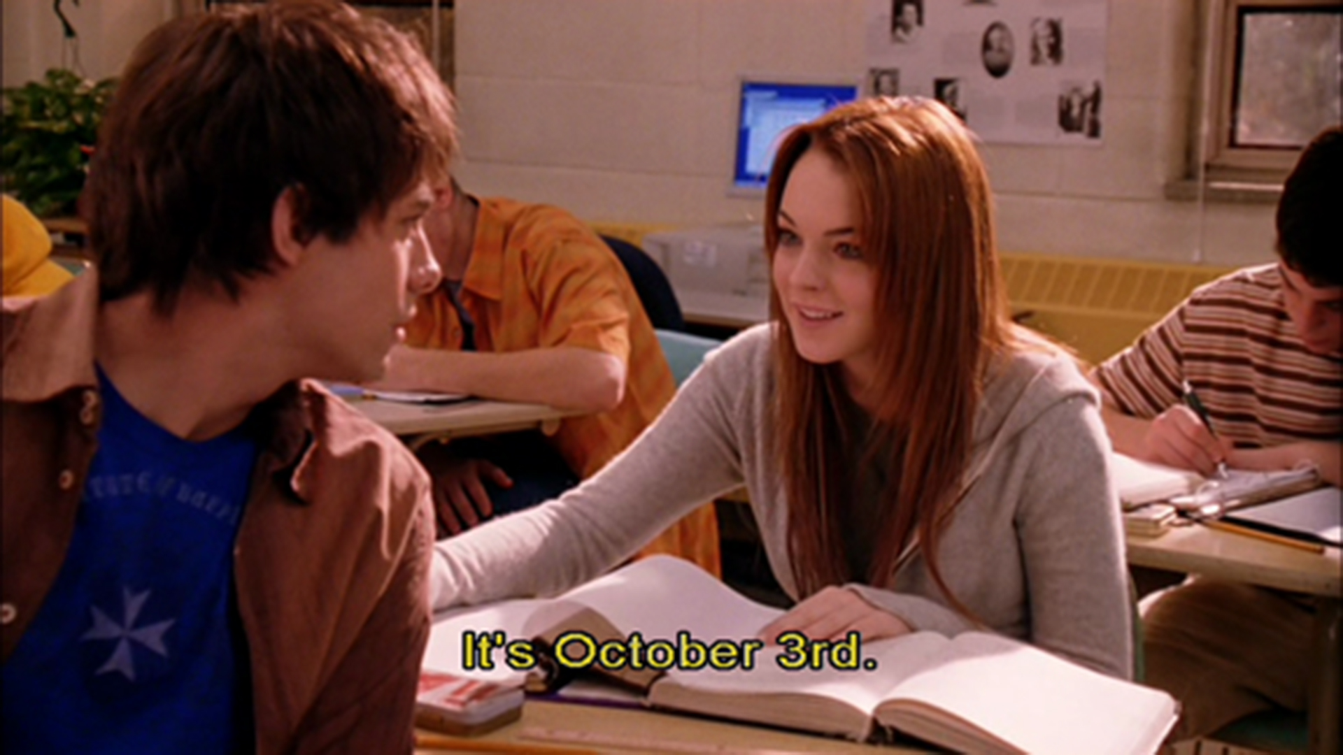 It S October 3rd Celebrate Mean Girls Day With Lindsay