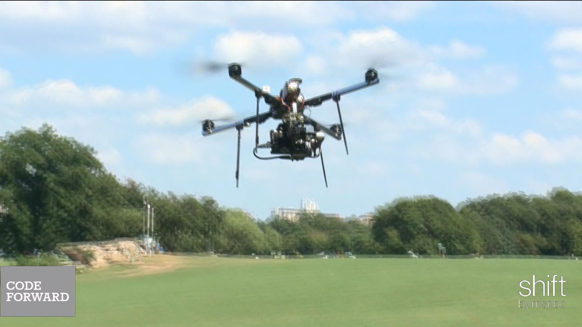Exploring the wild world of drone flight
