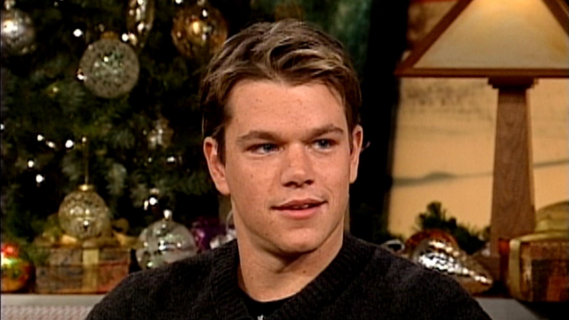 Throwback Thursday! Matt Damon and Ben Affleck talk 'Good ...  Throwback Thurs...
