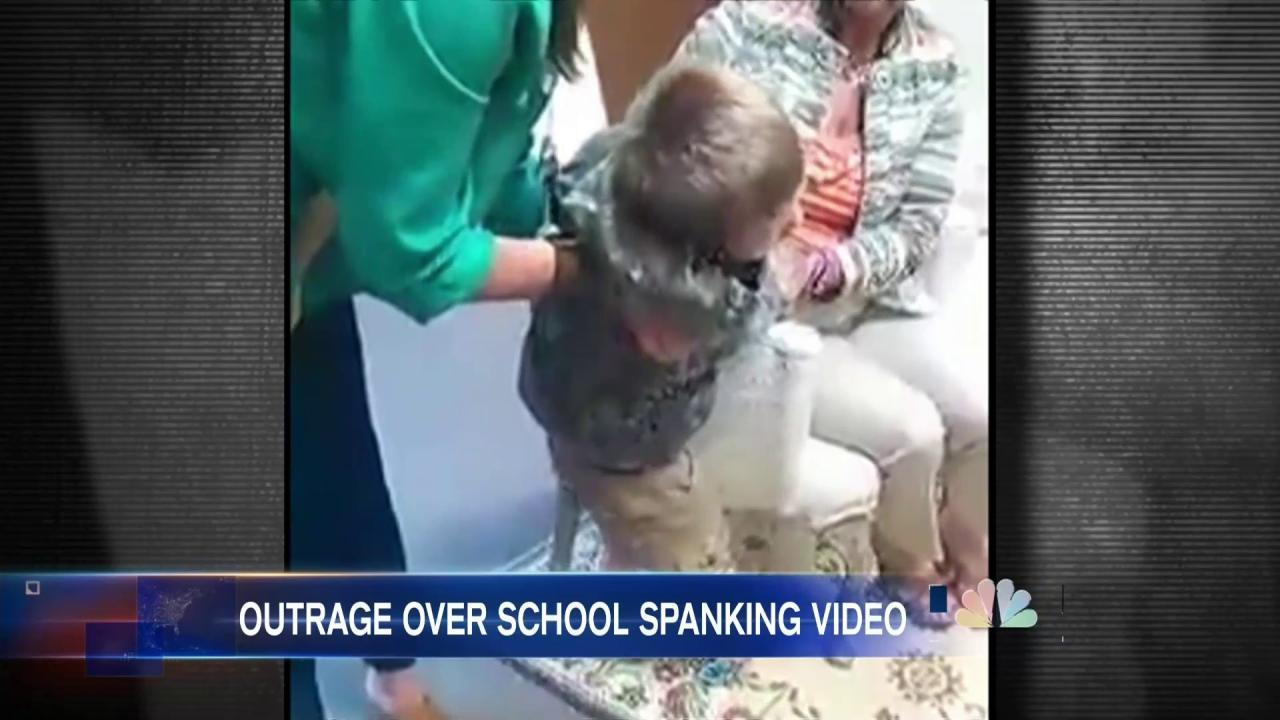 Video Of School Spanking Re Ignites Debate Over Corporal