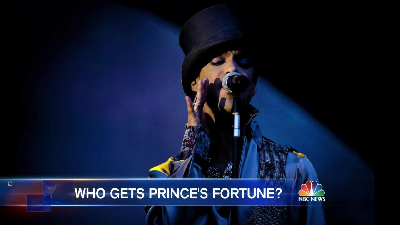 Sister: Prince Had No Known Will