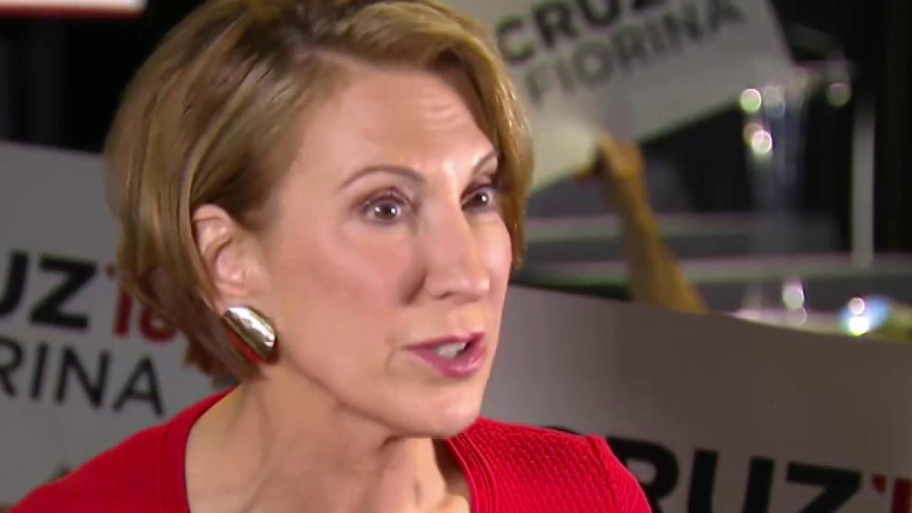 Fiorina: Trump Clearly Has a Problem With Women
