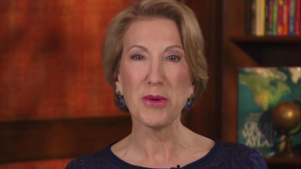 Fiorina: If you want Clinton as POTUS,...