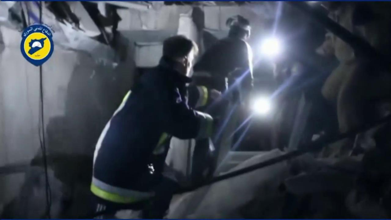 Syrian Hospital hit in air strike