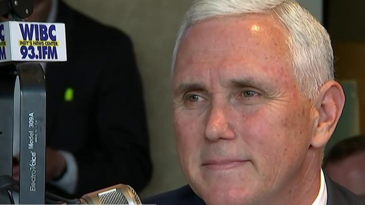IN Gov. Pence: 'I will be voting for Ted...