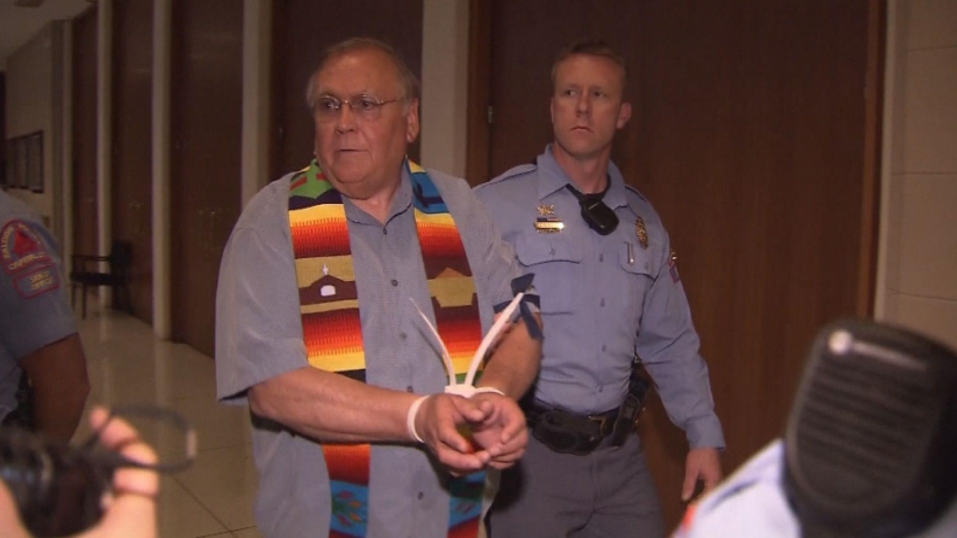 Dozens Arrested Protesting North Carolina 39 Bathroom Bill