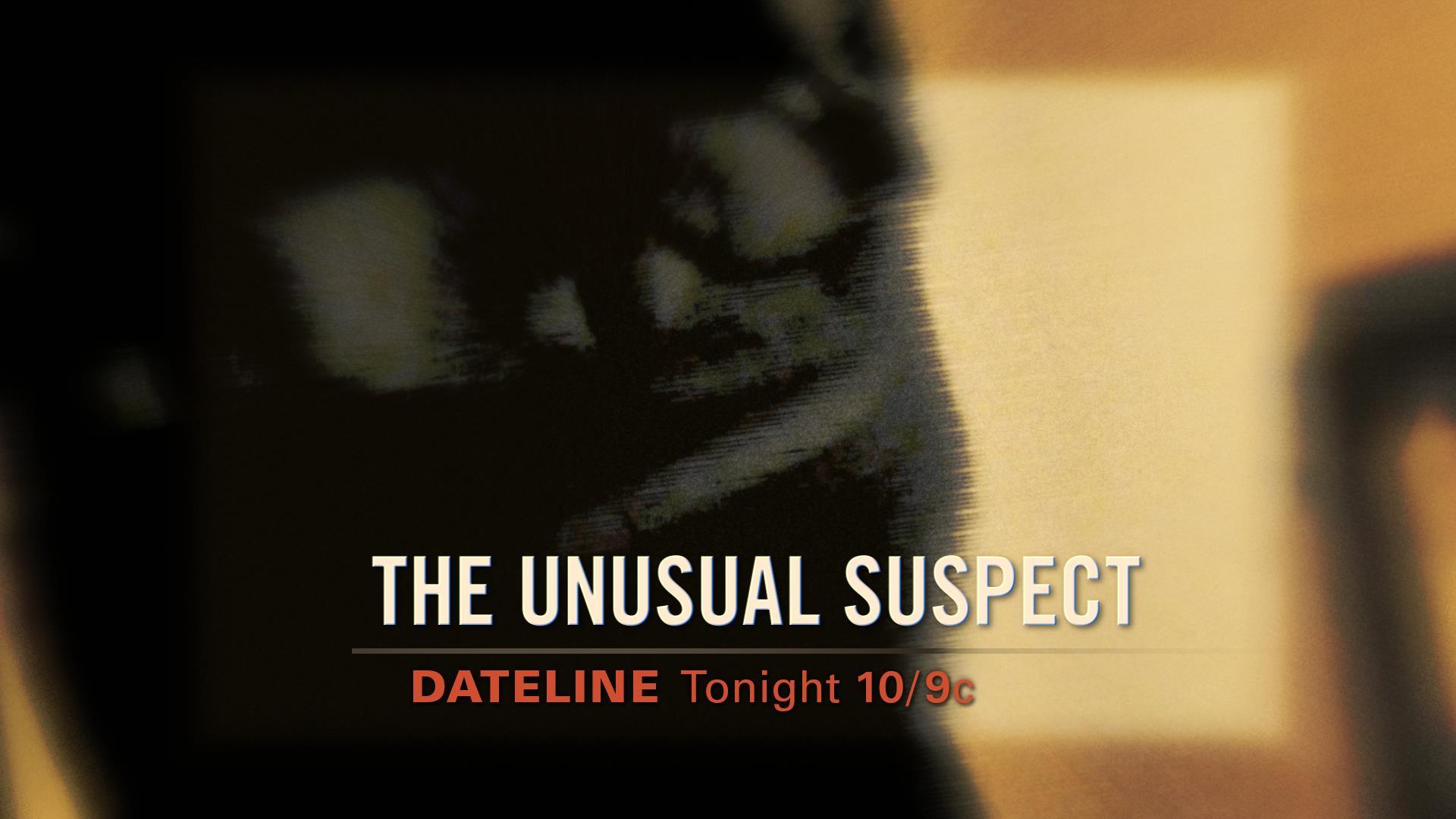 SNEAK PEEK: The Unusual Suspect