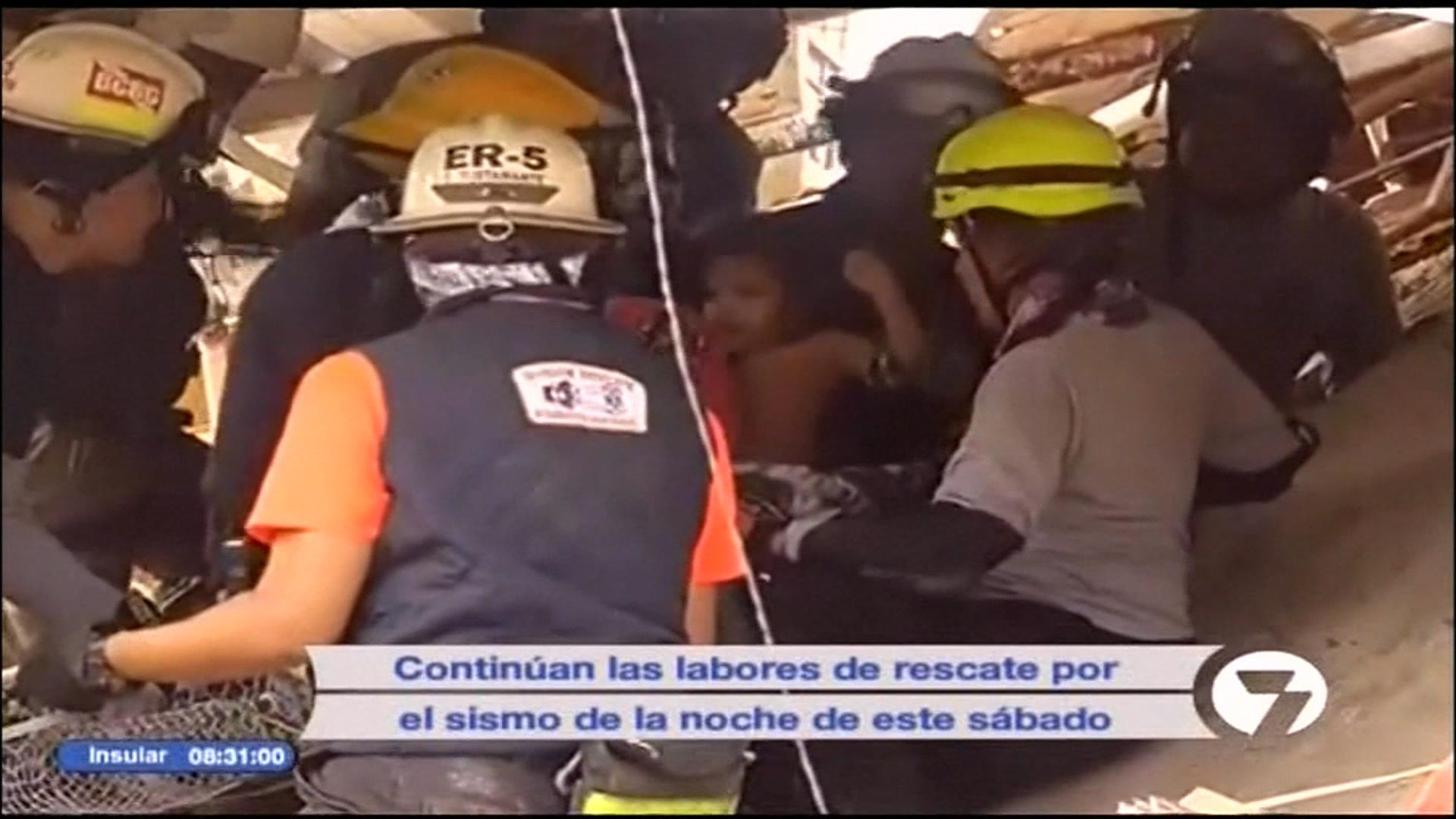 See toddler rescued after Ecuador earthquake