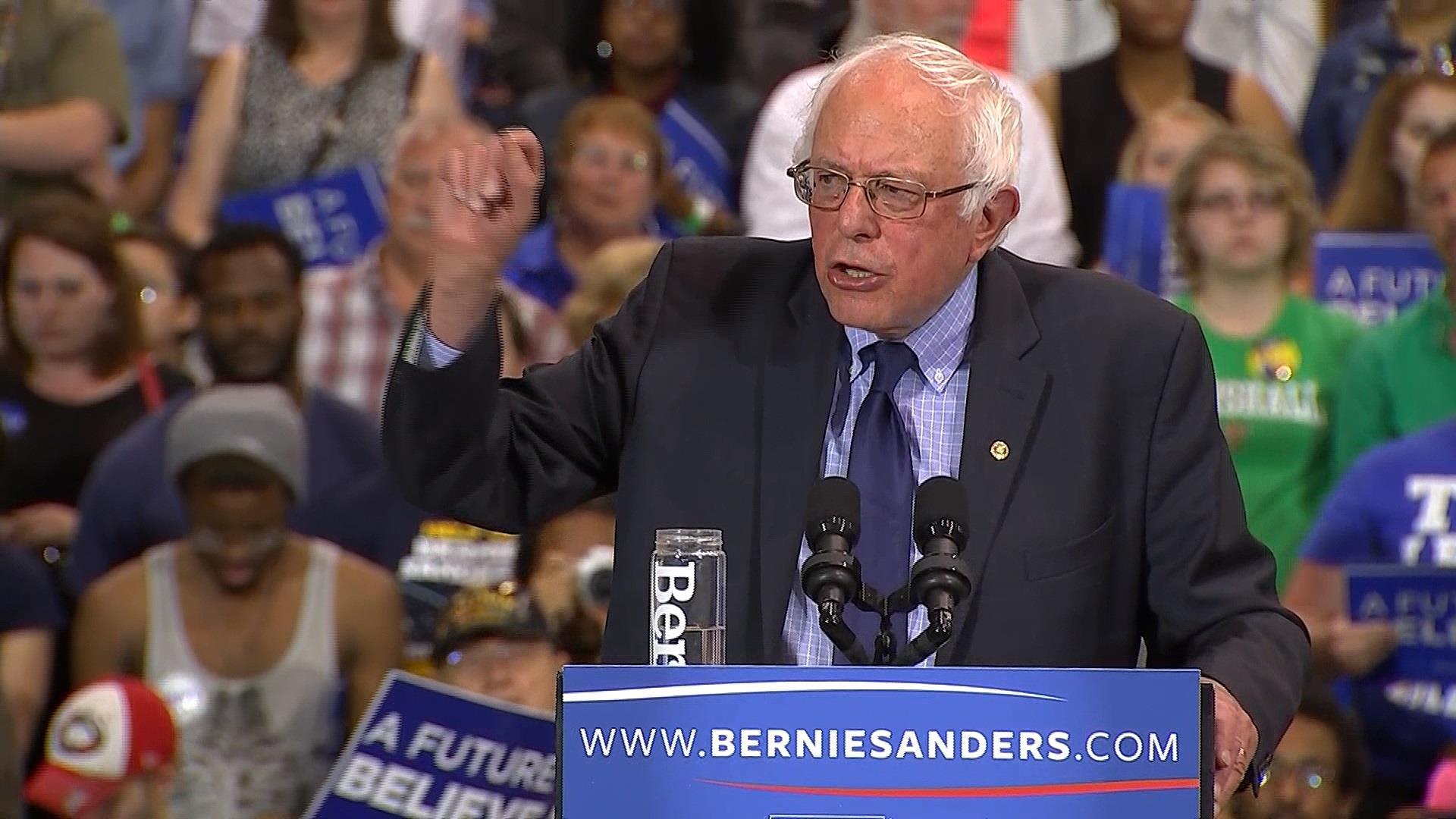 Sanders speaks to WV supporters