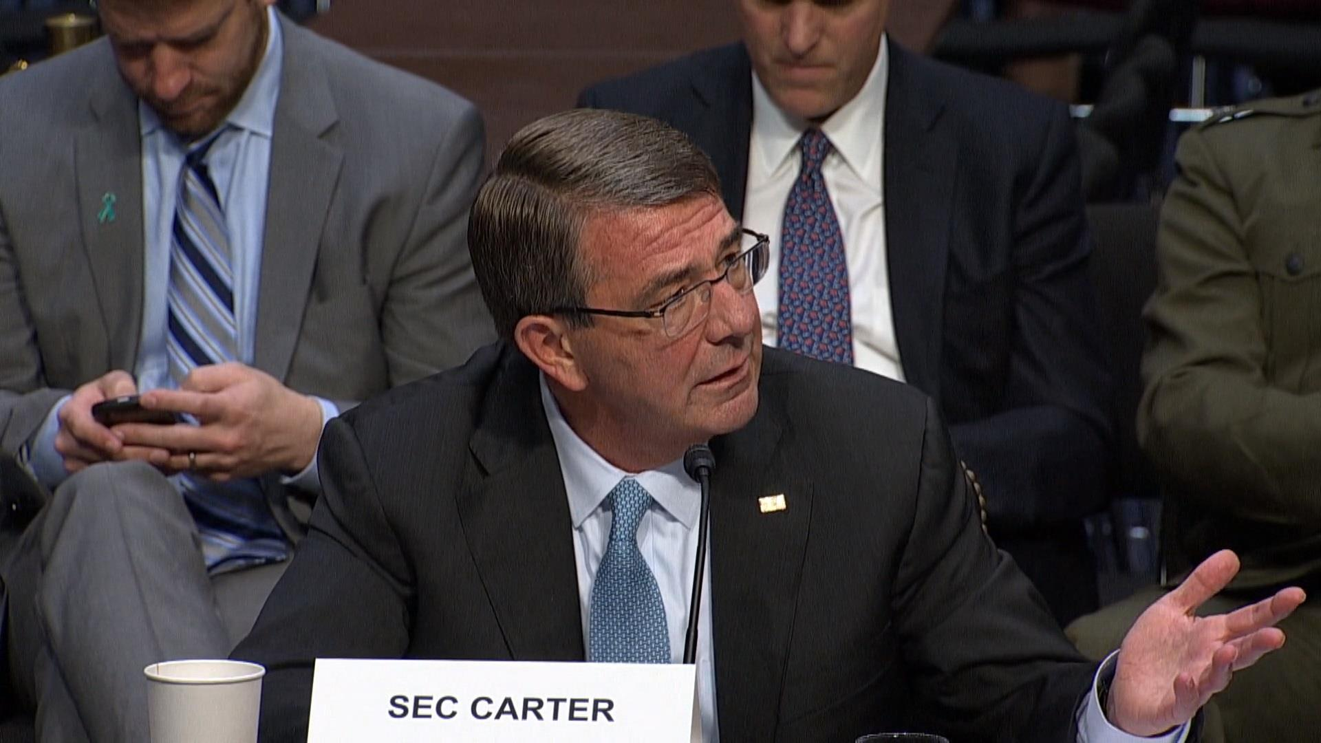 Ash Carter: US troops are 'in combat'