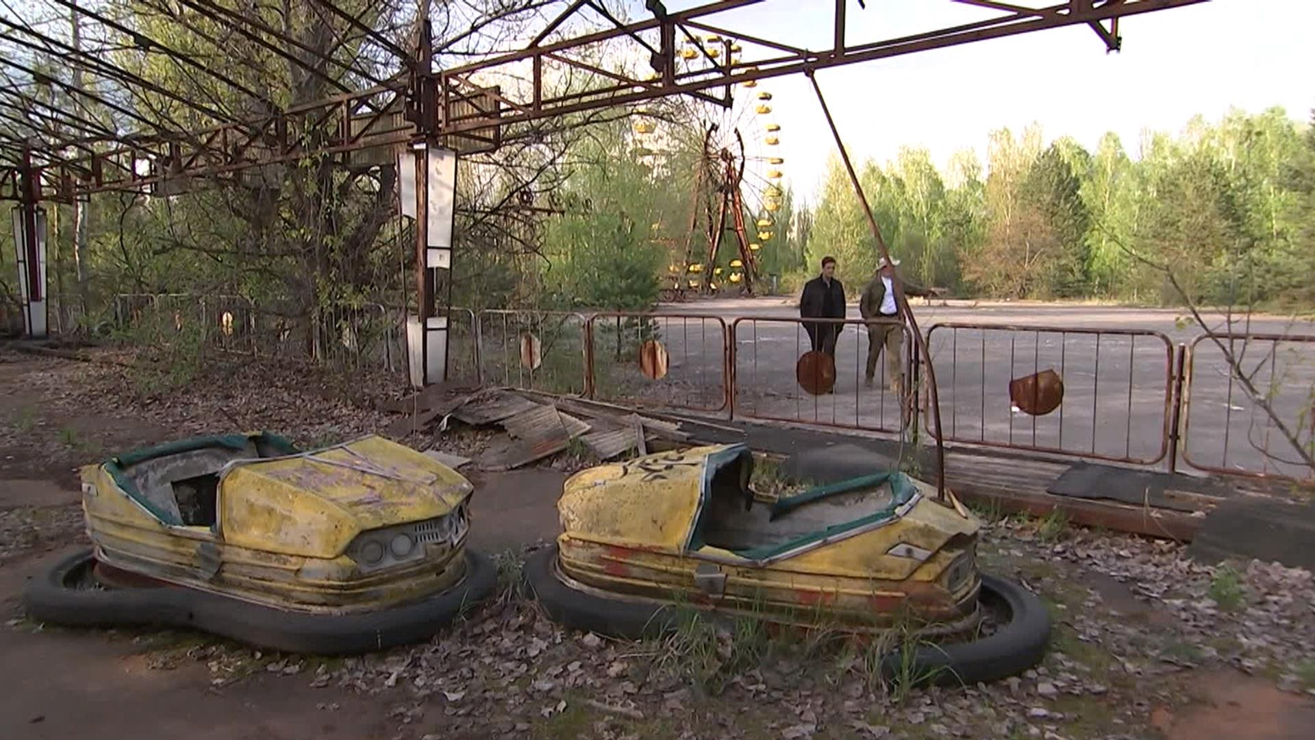 See the eerie scene inside Chernobyl, 30 years after the nuclear disaster