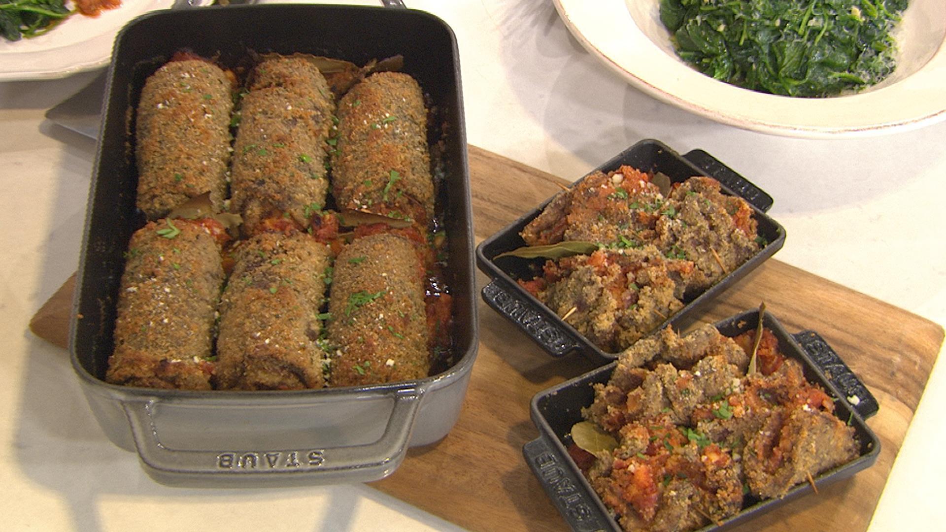 Italian Beef Roll Ups Nicole Gaffney Shows You How