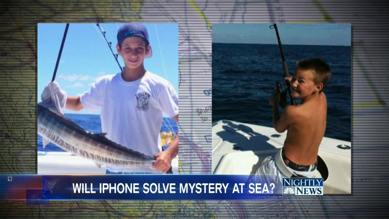 Could an iPhone Unlock Clues in Florida Teens Lost at Sea