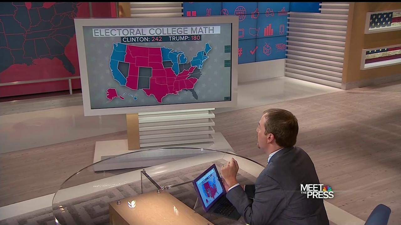 trump electoral map nbc news