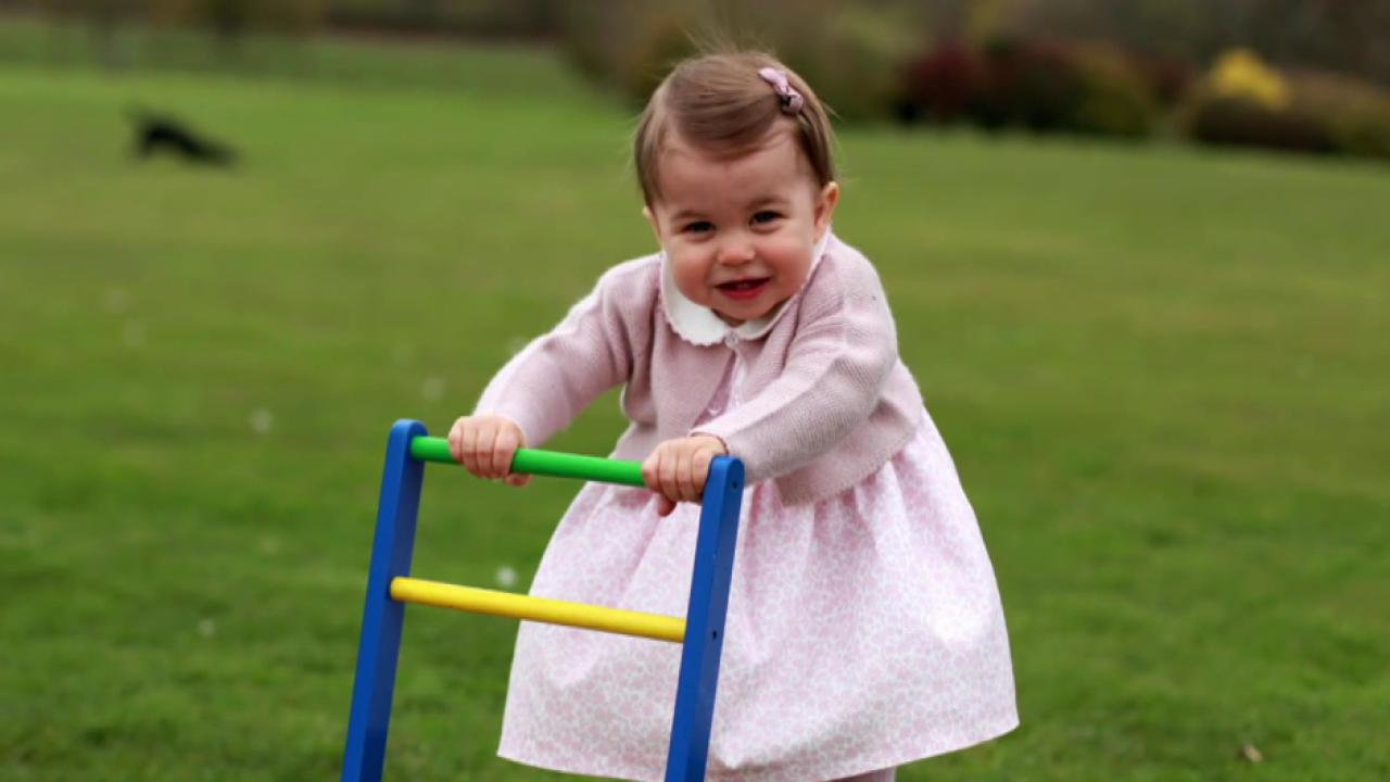Photo released of Princess Charlotte ahead of her second birthday advise