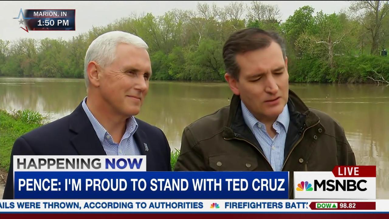 Cruz: If Trump is nominee, Hillary wins