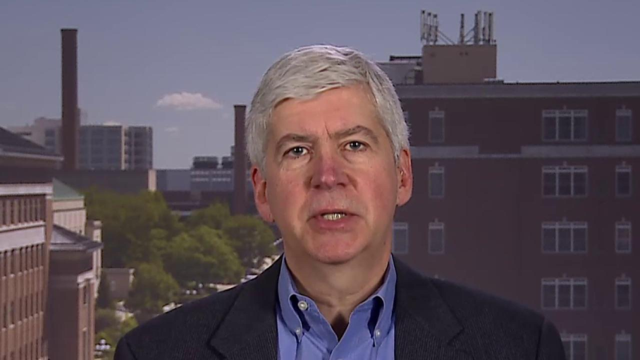 Mich. governor: Why I haven't stepped down