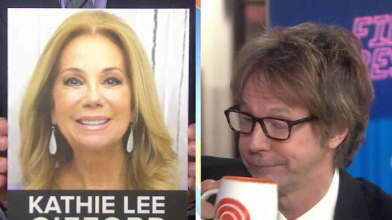 Watch Dana Carvey take on impromptu impressions: Kathie Lee, Regis, and more