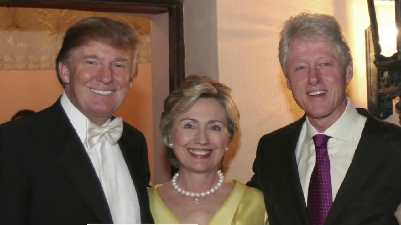 Image result for trump hillary clinton friends for years