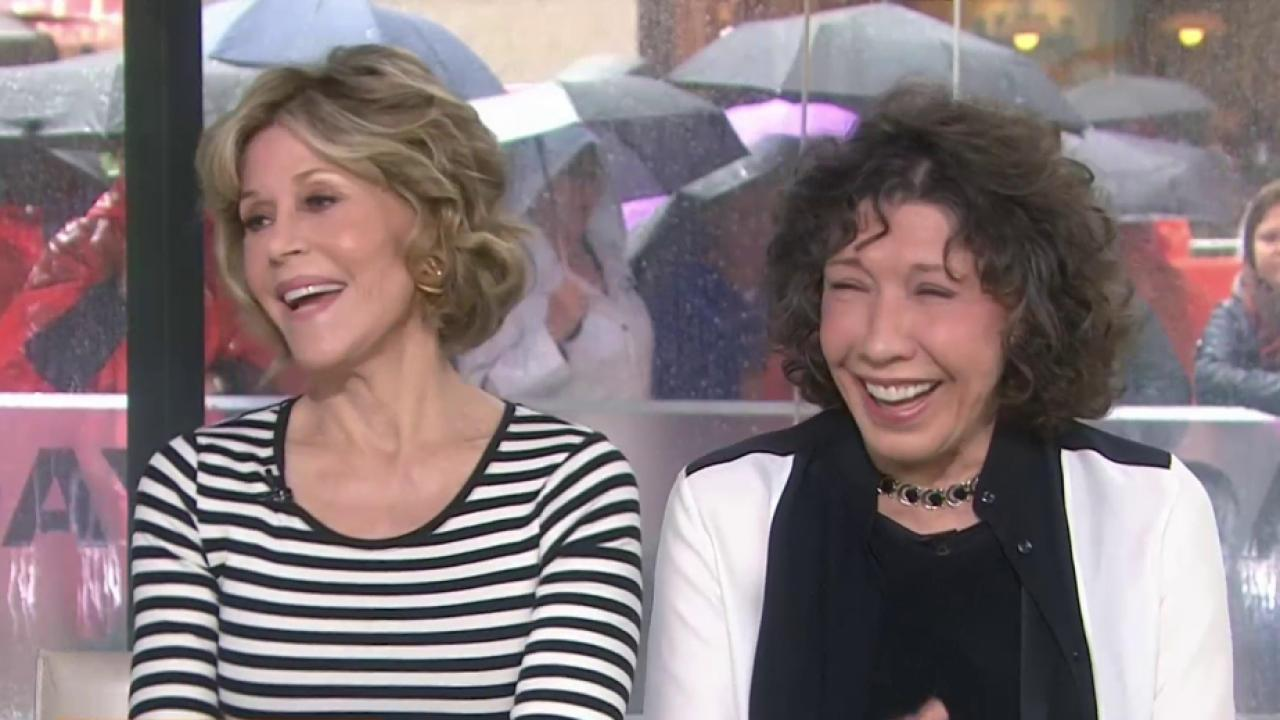 Jane Fonda Lily Tomlin Why We Love Playing Grace And