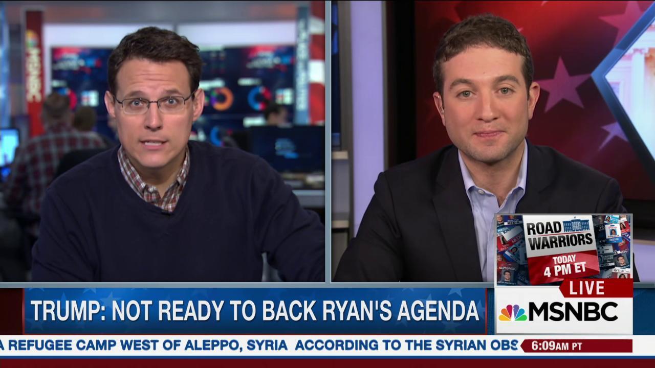 Will Paul Ryan eventually support Trump?