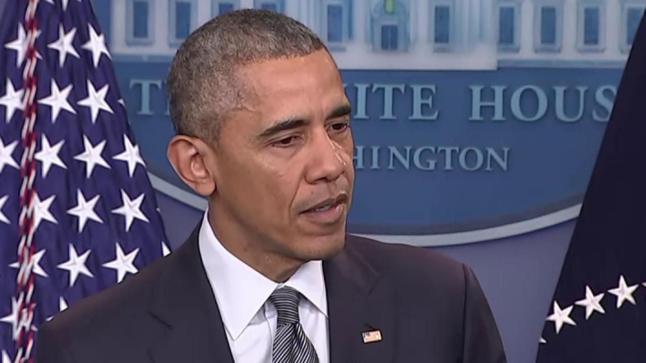 Pres. Obama: Trump's record needs to be...