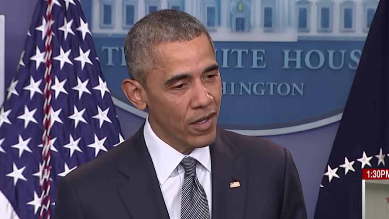 Obama on 2016: 'This is not a reality show'