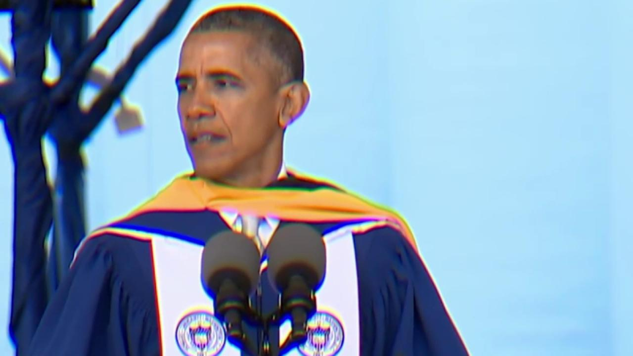 Pres. Obama: Passion isn't enough, you...