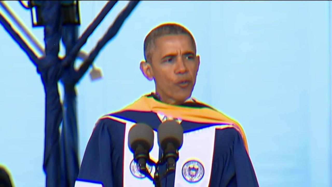 Obama: Listen to those with whom you disagree