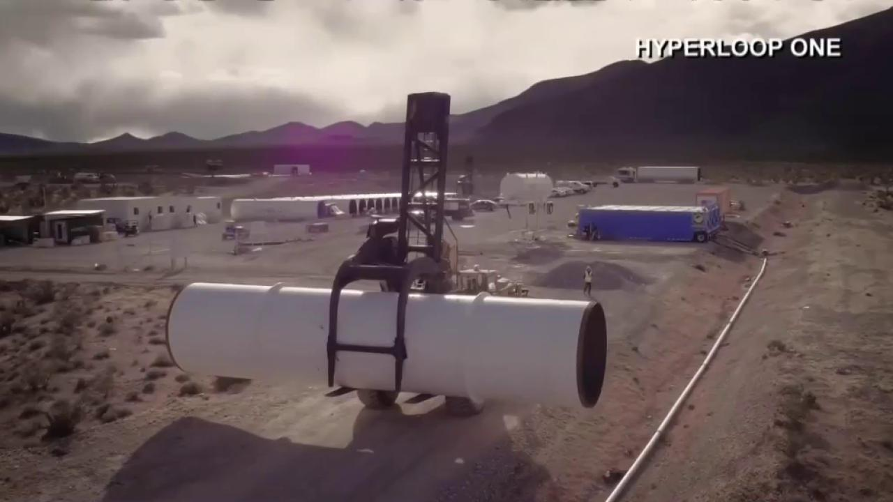 Hyperloop One Successfully Tests Propulsion System
